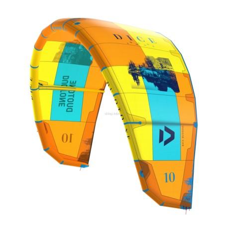 Latawiec kitesurfingowy DUAOTONE DICE / ORANGE